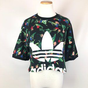 adidas Originals Women's Bellista Crop T-Shirt M